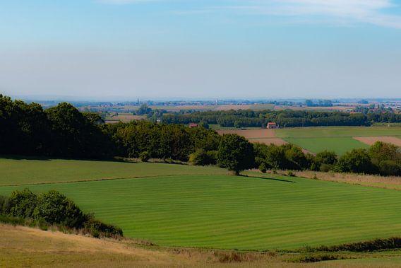 zicht over Vlaamse velden