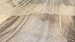 Fischernetze trocknen im Wind pano von Michel Seelen