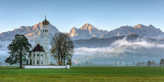 St. Coloman in the Allgäu in autumn