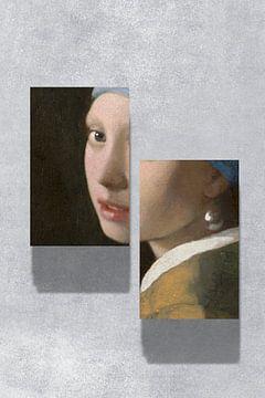 Meisje met de Parel - The Split Up Edition von Marja van den Hurk