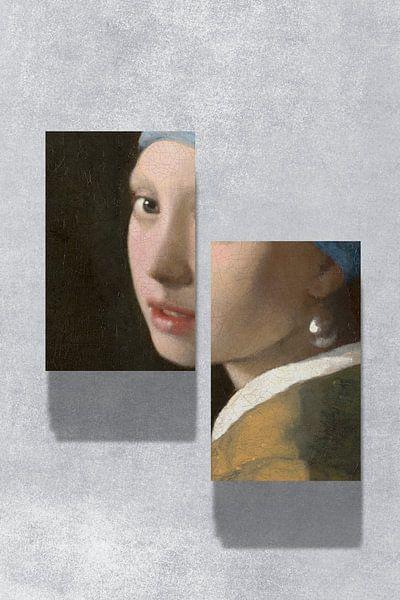 Meisje met de Parel - The Split Up Edition van Marja van den Hurk