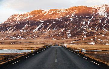 Autobahn 1 in Island von Tim van Breukelen