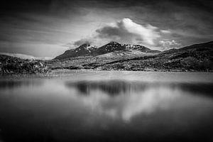 The black Cuillin and Loch nan Eilean