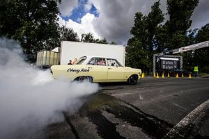 Chevy Burnout van