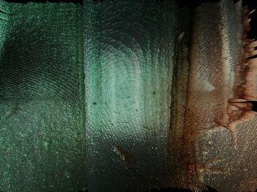 Abstrakt in Grün- und Brauntönen von Maurice Dawson