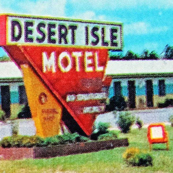 Desert Isle Motel (004) van Melanie Rijkers