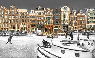 Amsterdam Winter van Dalex Photography