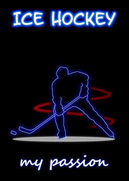 Eishockey van Printed Artings