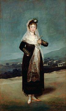 Porträt der Marquise von Santiago, Francisco de Goya
