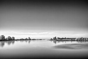 Het Kalme Water Van De Lek van Tony Buijse