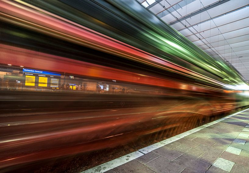 Turn back time - Rotterdam van David Pronk