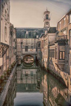 Cityview Dordrecht The Netherlands van Roland de Zeeuw fotografie