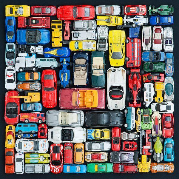 Sammlung von Spielzeugautos von Floris Kok