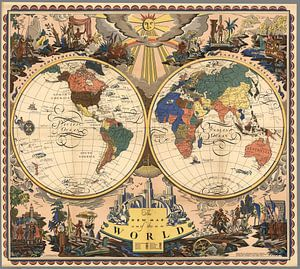 The New Map of the World.
