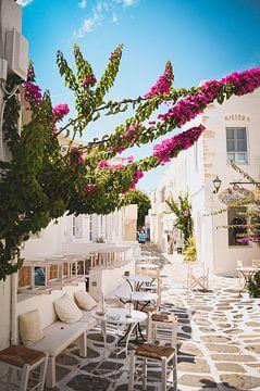 Un sentiment de vacances instantanées à Paros, en Grèce sur Daphne Groeneveld