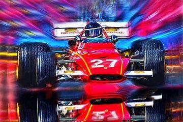 Motorsport legende Jacky Ickx uit België van DeVerviers