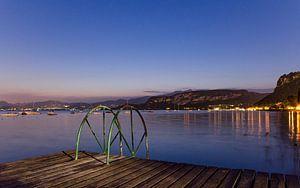 Uitzicht op het Gardameer, Italië van