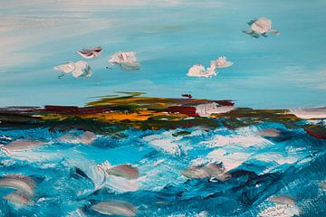 ~ Turbulente See ~ von Klaske de Wal