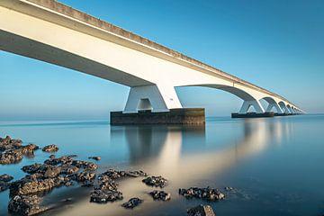 Lange sluitertijd aan de Zeelandbrug van Midi010 Fotografie