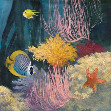 Coastal Reef II, Julia Purinton van Wild Apple