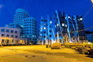 Die Gehry-Bauten im Medienhafen, Düsseldorf von Martijn Mureau
