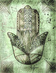 Heilige Hand von Petra Rivers