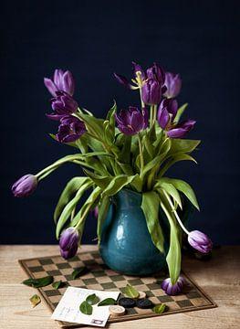 Stilleven met tulpen van Natalia Balanina