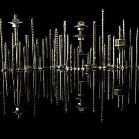 City skyline van Lisa Kompier