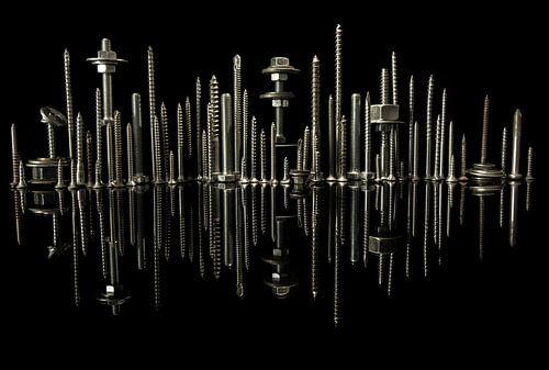 City skyline von Lisa Kompier