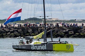 Volvo Ocean Race 2015, team Brunel van Marian Sintemaartensdijk