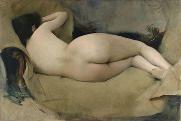 Ramon Casas~Femininer Akt