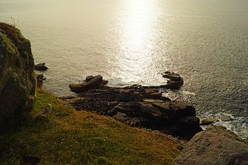 Stoer Head kliffen in Schotland . van Babetts Bildergalerie