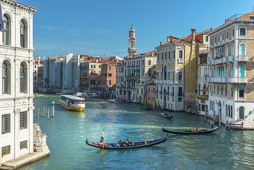 Gondola Venetië op de Canal Grande