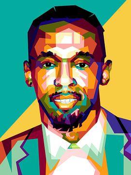 Usain Bolt wpap von miru arts