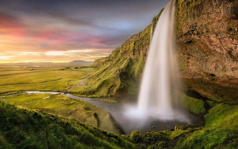 Seljalandsfoss Island | Wasserfall von FineArt Prints | Zwerger-Schoner |