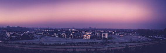 Panorama van Hilversum vanaf Anna's Berg