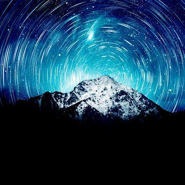 Zwischen der Galaxie und dem Berg von Patrik Lovrin