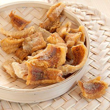 gedroogde vis, Indisch van Liesbeth Govers voor omdewest.com