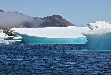 IJsberg, Iceberg,  Groenland, Greenland von Yvonne Balvers