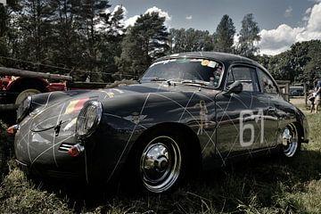 Porsche classique vintage sur Natasja Tollenaar