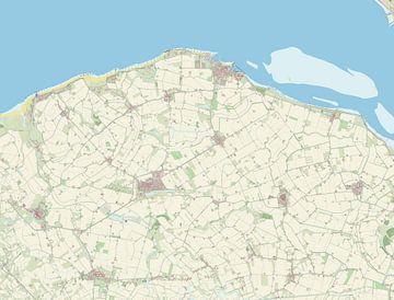 Kaart vanSluis