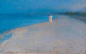 Sommerabend am Südstrand, Skagen, Peder Severin Krøyer