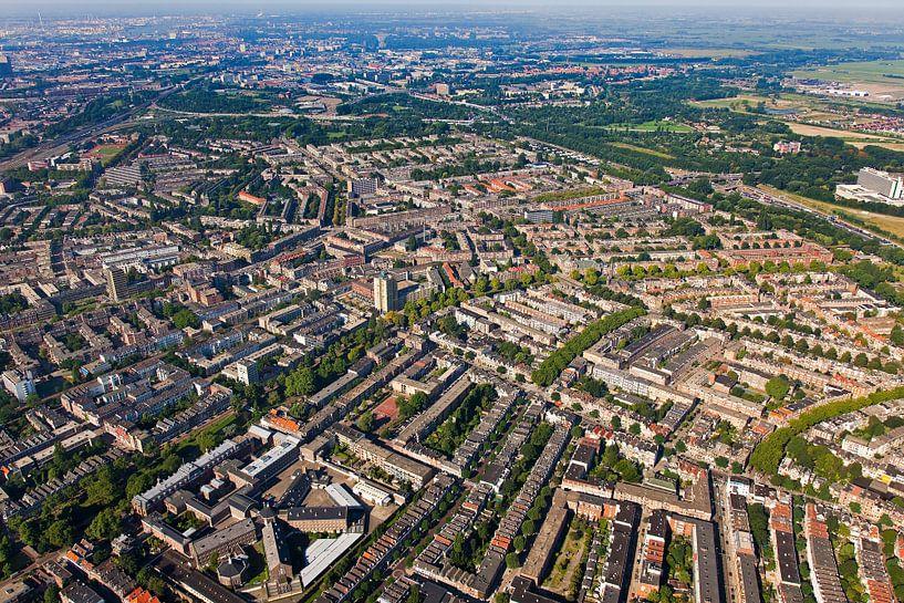 Luchtfoto Noord te Rotterdam van Anton de Zeeuw