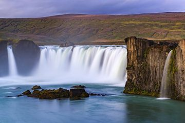 Wasserfall der Godafoss, Island von Henk Meijer Photography