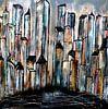 city abstract van Femke van der Tak (fem-paintings) thumbnail