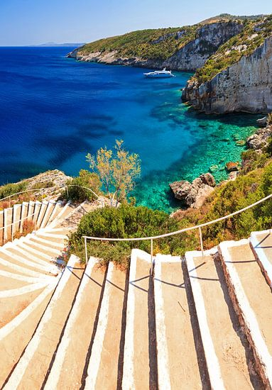 De trap naar het paradijs van Dennis van de Water