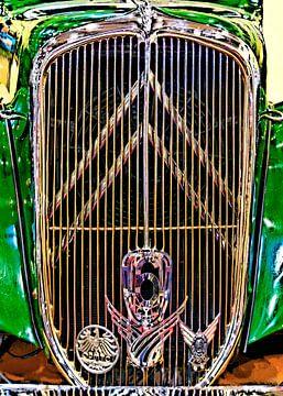 Citroen Zes Cilinder van Leopold Brix