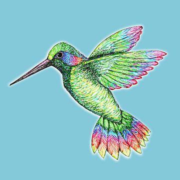 Kolibri von Bianca Wisseloo