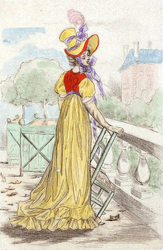Mode 1815, Mode in het negentiende-eeuwse Parijs, Henri Boutet, (1851 1919) van