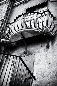 Castel Sant'Angelo, die Engelsburg, Rom | Schwarz-Weiß-Foto I Reisefotografie von Diana van Neck Photography